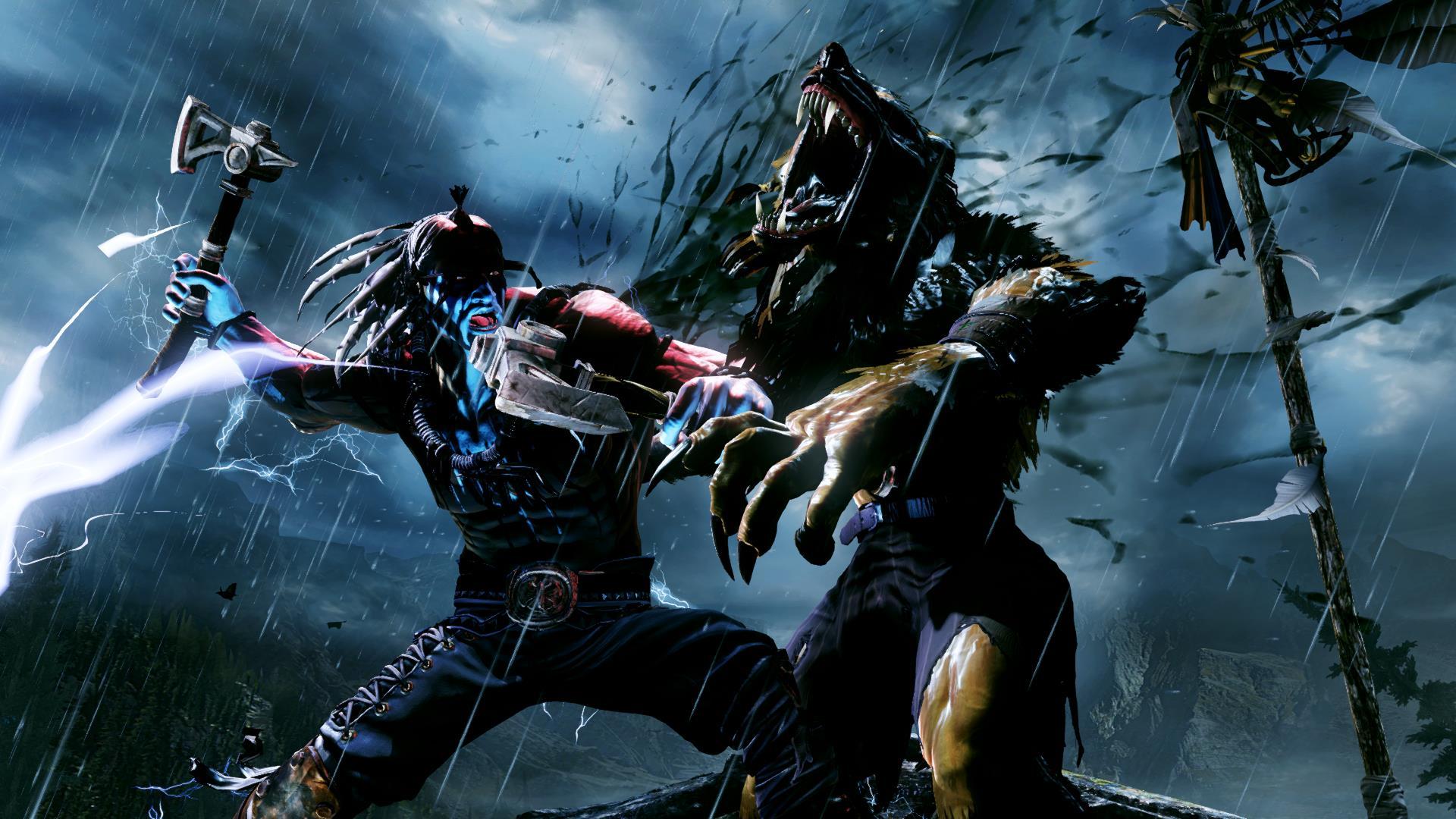 Survival Thunder in Killer Instinct